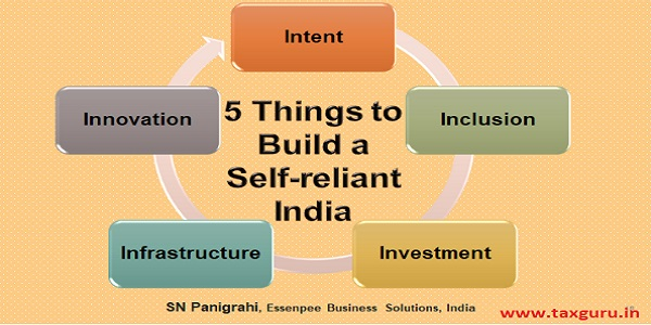 5 things to Build a self reliant india