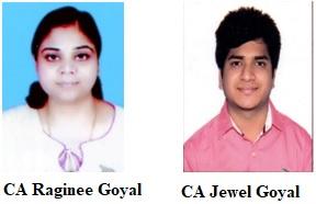CA Raginee Goyal & CA Jewel Goyal