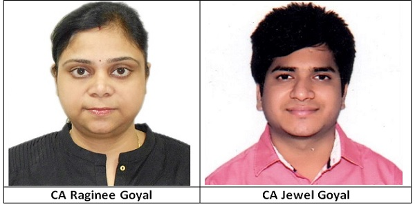 CA Raginee Goyal and CA Jewel Goyal