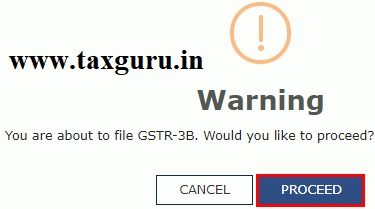 Filing Nil Form GSTR-3B through Online 9