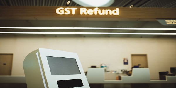 GST Refund Booth at Terminal