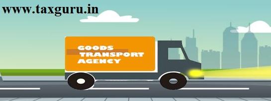 Goods Transport Agency in GST