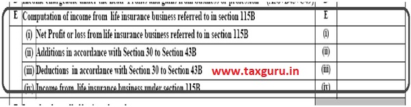 Income from Life Insurance Section 115B