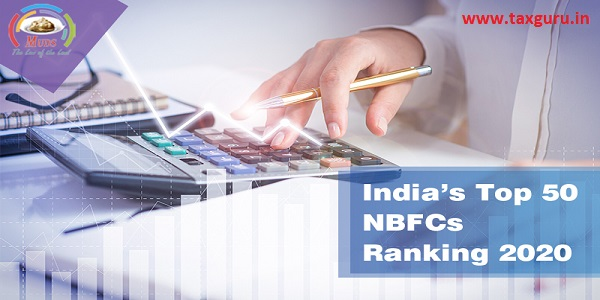 India's top 50 NBFCs Ranking 2020