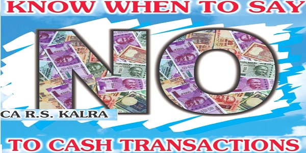 Know When To Say No To Cash Transactions