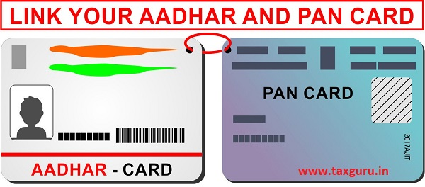 Link your AADHAR and PAN Card