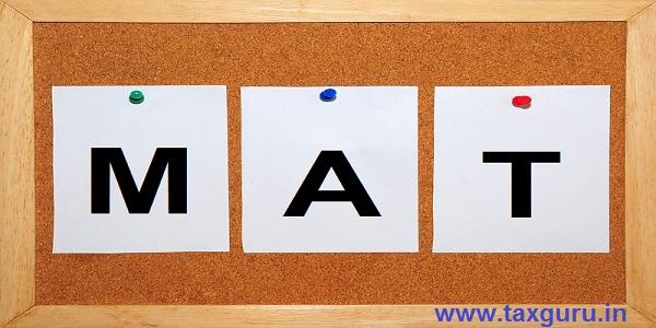 Minimum Alternate Tax Mat Section 115jb