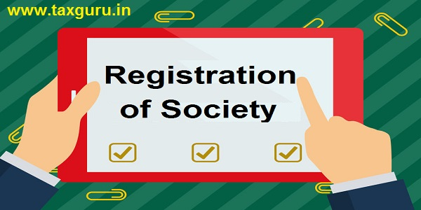Registration of Society