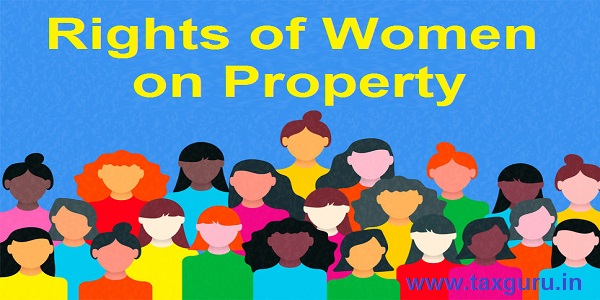 Rights of Women on Property