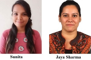 Sunita and Jaya Sharma
