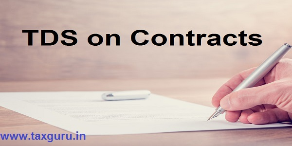 TDS on Contracts