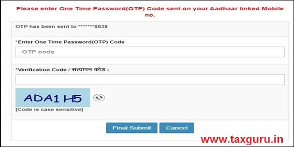 Udyog Aadhaar Memorandum number