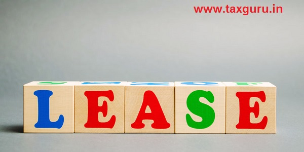 Wooden blocks with the word Lease