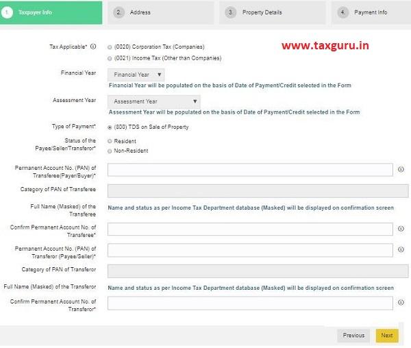 filing the Form 26QB
