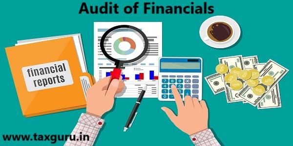 Audit of Financials