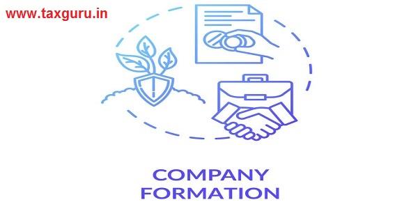 Company formation concept icon