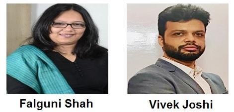 Falguni Shah & Vivek Joshi