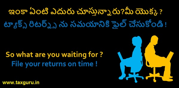 File your returns on time
