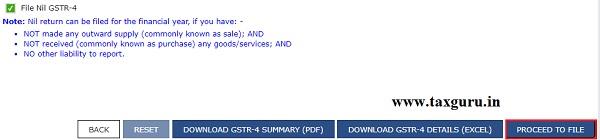 Filing Form GSTR-4 (Annual Return) (For FY 2019-20 Onwards) Image 7