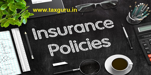 Insurance Policies - Text on Black Chalkboard