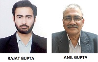 Rajat Gupta and Anil Gupta