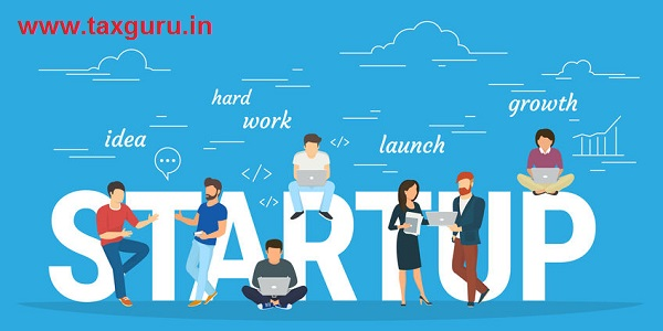 Startup concept flat illustration of business people working as team to launch the business