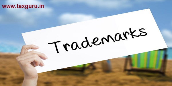Trademarks Sign on white paper