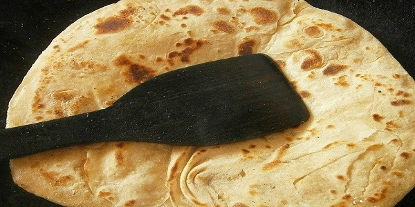 chapati bread indian pancakes food traditional