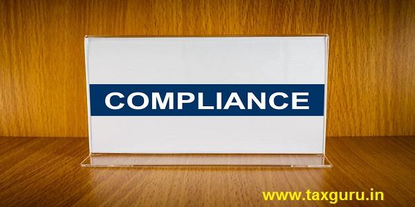 compliance on Acrylic card holder
