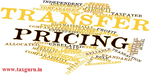 Abstract word cloud for Transfer pricing with related tags and terms