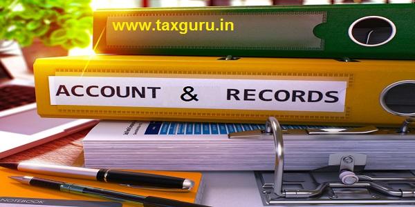 Accounts & Records