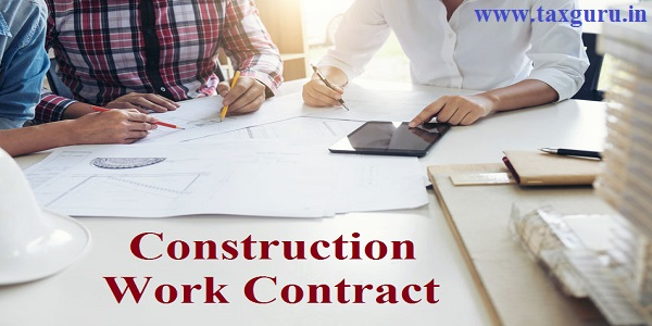 Construction Work Contract