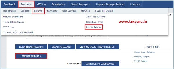 Download Form GSTR-4 (Annual Return) JSON File(s) from the GST Portal 1