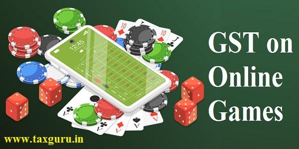 GST on Online Games