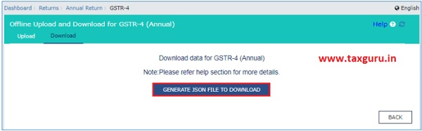 Generate Json File To Download