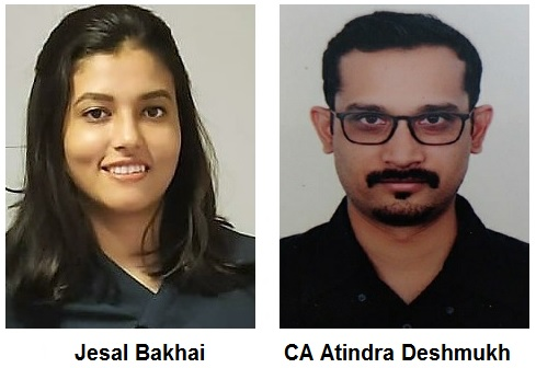 Jesal Bakhai & CA Atindra Deshmukh
