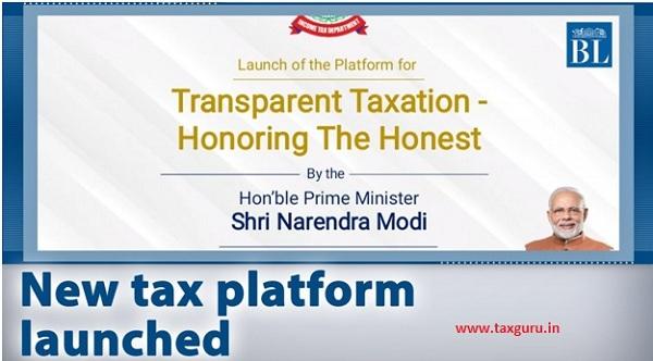 New Tax Platform