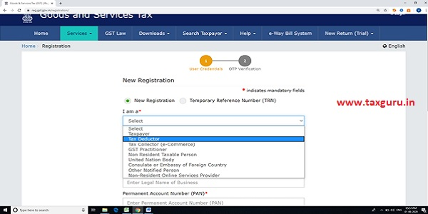Registration Requirement and Procedure