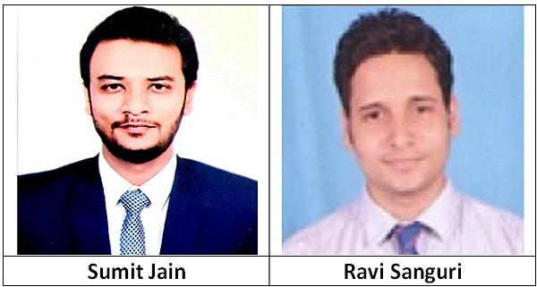 Sumit Jain and Ravi Sanguri