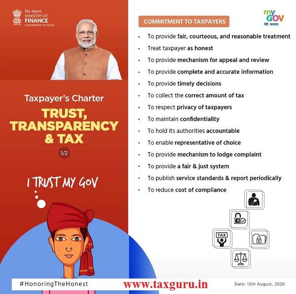 TRUST TRANSPARENCY & TAX