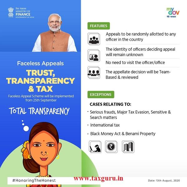 TRUST, TRANSPARENCY & TAX