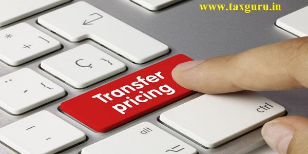 Transfer pricing Written on Red Key of Metallic Keyboard