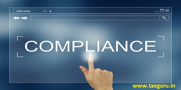 hand press on compliance button on webpage