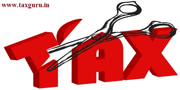 scissors cut taxes - Tax deductions