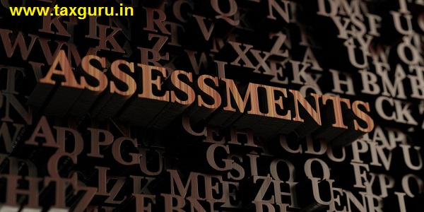 Assessments - Wooden 3D rendered letters