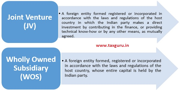 Forms Of Entity That An Indian Party Can Form For Overseas Direct Investment