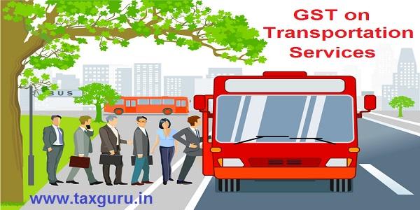 GST on Transportation Services