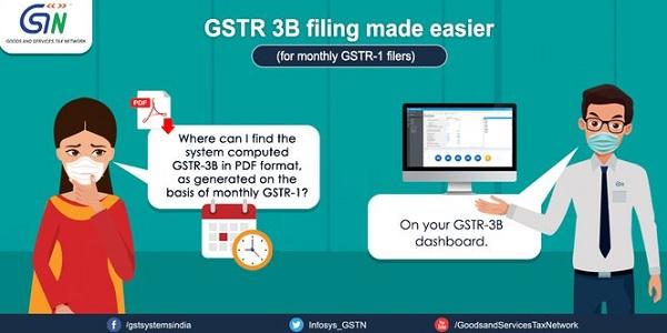 GSTR 3B filling made easier 5