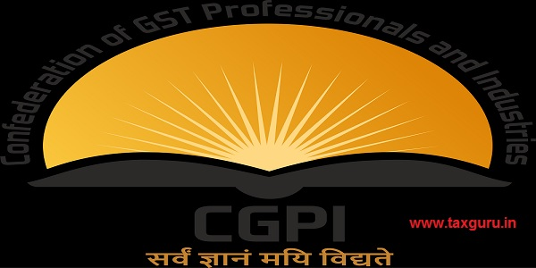 Confederation of GST Professionals and Industries CGPI