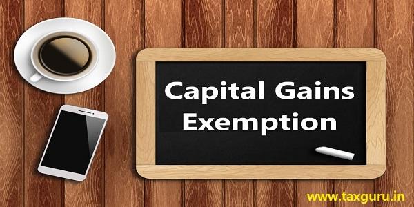 Capital Gains Exemption